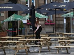 For young people, employment tended to be concentrated in industries that had fewer opportunities for home working, the report said (Andrew Milligan/PA)