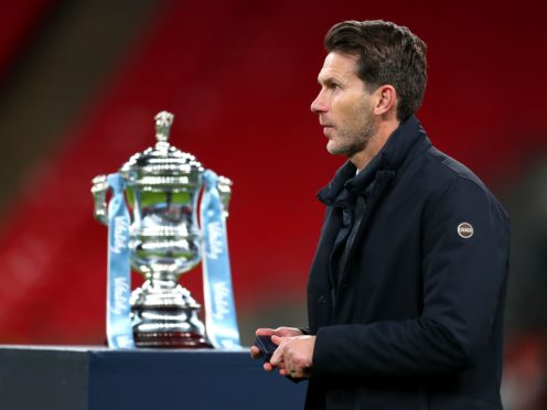 Gareth Taylor and Manchester City shift their focus to the Women's FA Cup (Catherine Ivill/PA)