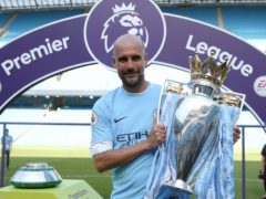 Pep Guardiola has delivered another Premier League trophy for Manchester City (Martin Rickett/PA)