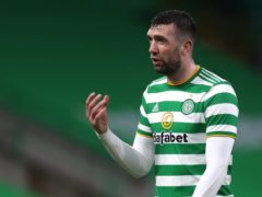 Shane Duffy endured a tough time at Celtic (Andrew Milligan/PA)