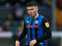 Aaron Morley opened the scoring for Rochdale (Barrington Coombs/PA)