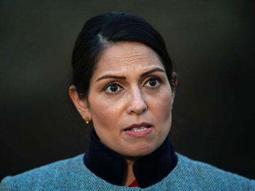 Home Secretary Priti Patel (PA)