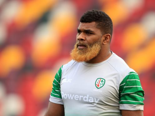 """London Irish forward Albert Tuisue received a """"racially abusive and threatening message"""" online on Saturday, the Gallagher Premiership club have said (Adam Davy/PA)"""
