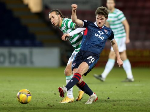 Ross County need to go for a win, says Blair Spittal (right) (Jeff Holmes/PA)