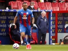 Roy Hodgson has urged Crystal Palace to be bold in an attacking sense (Andrew Boyers/PA)