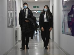 The Government is planning to remove the face mask rule for secondary school pupils (Kirsty O'Connor/PA)