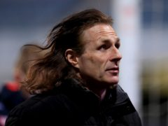 Gareth Ainsworth remained proud despite Wycombe's relegation (Adam Davy/PA)