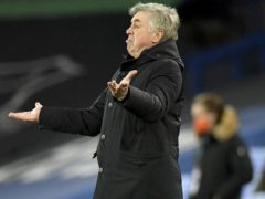 Everton manager Carlo Ancelotti has no explanation for his side's contrasting home and away performances (Peter Powell/PA)