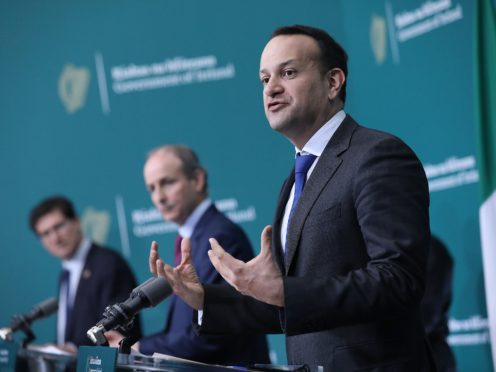 Leo Varadkar said there would be a phased return to international travel this summer (Julien Behal/PA)