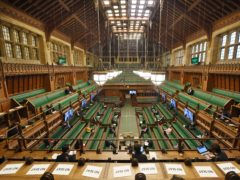 A view of the House of Commons in London (UK Parliament/Jessica Taylor/PA)