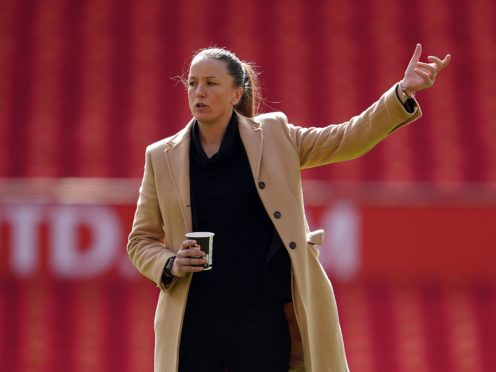 Manchester United announced on Wednesday that boss Casey Stoney is stepping down at the end of the season (Zac Goodwin/PA).