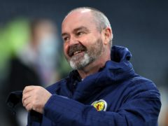 Steve Clarke is on a four-man shortlist (Andrew Milligan/PA)