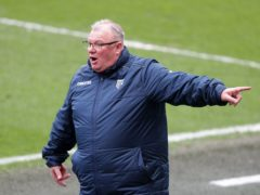 Steve Evans was left with mixed emotions as Gillingham beat Plymouth (Richard Sellers/PA)