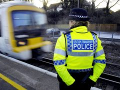 British Transport Police are investigating the attack at Coatbridge Sunnyside station (PA)