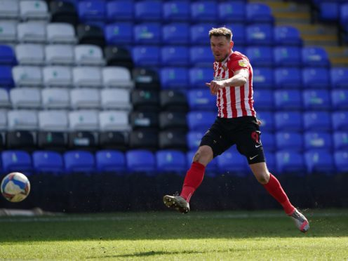 Sunderland's Charlie Wyke could return from injury against Northampton (Zac Goodwin/PA)