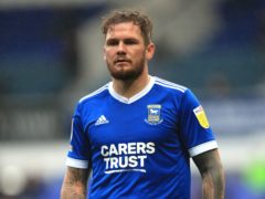 James Norwood scored twice for Ipswich (Adam Davy/PA)