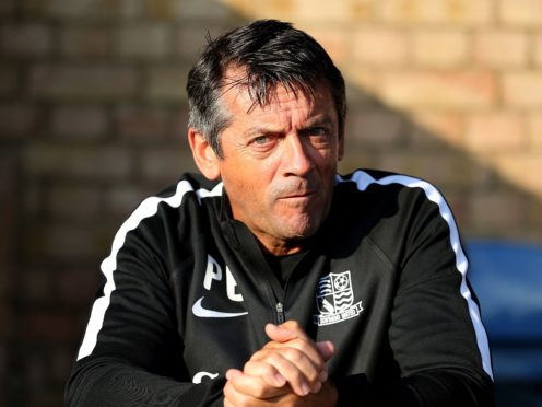 Phil Brown was unable to keep Southend up (Steven Paston/PA)