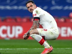 Striker Danny Ings has missed Southampton's last two games (Neil Hall/PA)