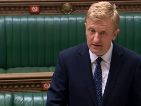 Culture Secretary Oliver Dowden (House of Commons/PA)
