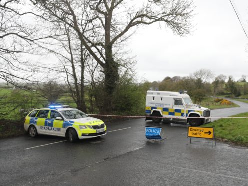 A man has been charged in connection with the attempted murder of a police officer after a bomb was found beside her car in Dungiven (Niall Carson/PA)