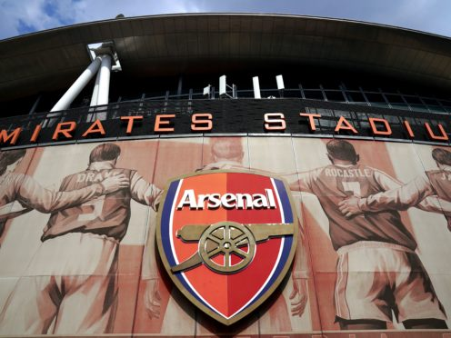 Spotify founder Daniel Ek has revealed that he has had an offer to buy Arsenal rejected (John Walton/PA)