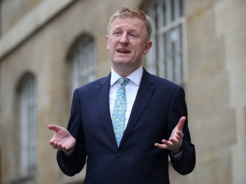 Oliver Dowden said ministers will keep engaging with organisations (Yui Mok/PA)