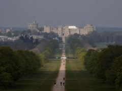 Trespassers were reported in the grounds of the Queen's Windsor estate (PA)