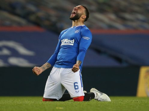 Rangers' Connor Goldson has played every single second of Rangers' triumphant season (Andrew Milligan/PA)