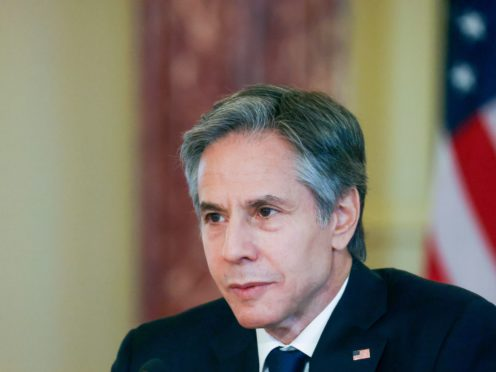 US secretary of state Antony Blinken (Leah Millis/Pool via AP)