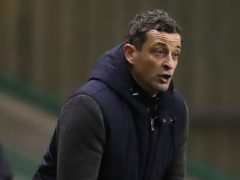 Hibernian manager Jack Ross is hoping to secure third place on Wednesday night (Andrew Milligan/PA)