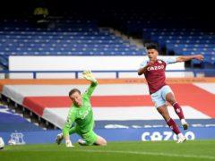 Ollie Watkins gives Aston Villa the lead (Michael Regan/PA)