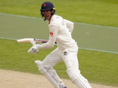 A century from Keaton Jennings put Lancashire in command in the Roses match (Adam Davy/PA)