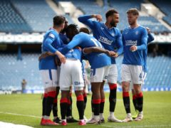 Rangers eased to a 4-1 victory over Old Firm rivals Celtic on Sunday (Jane Barlow/PA)