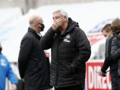 """Newcastle head coach Steve Bruce has revealed the """"brutal"""" impact Covid-19 has had on his squad (Lee Smith/PA)"""