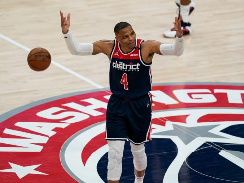 Washington Wizards guard Russell Westbrook (Alex Brandon/AP)