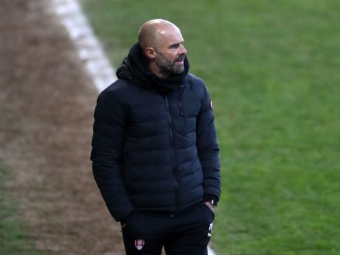 Paul Warne's Rotherham could only pick up one point at Luton (Tim Goode/PA)