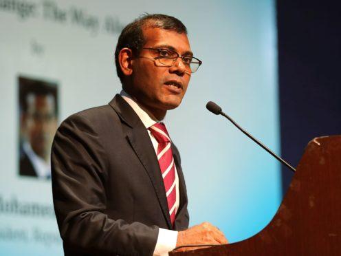 Mohamed Nasheed (AP)