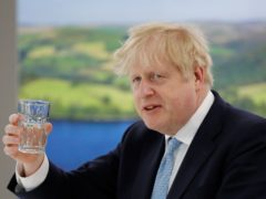 Prime Minister Boris Johnson said 'it's a very encouraging set of results so far' (Phil Noble/PA)