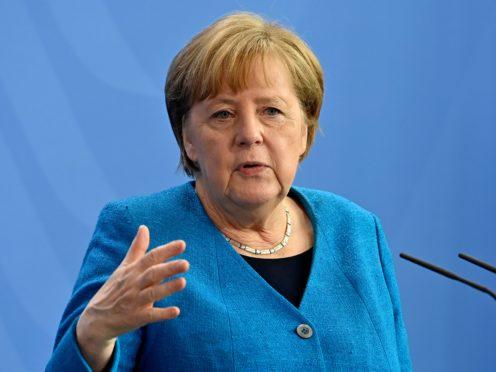German chancellor Angela Merkel (Pool/AP
