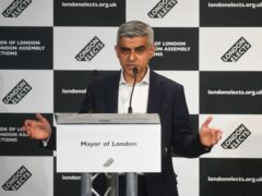 Labour's Sadiq Khan speaks after he was declared the next Mayor of London (Victoria Jones/PA)
