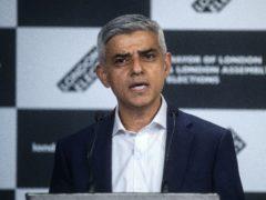 Sadiq Khan will unveil a domestic tourism campaign for London (Victoria Jones/PA)