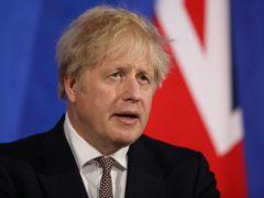 Prime Minister Boris Johnson will join Kenyan President Uhuru Kenyatta with a live schools link-up (Dan Kitwood/PA)