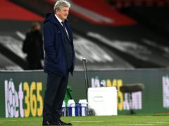 Roy Hodgson's Crystal Palace suffered defeat at Southampton on Tuesday evening (Glyn Kirk/PA)