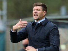 Steven Gerrard wants Rangers to make history on Saturday (Jane Barlow/PA)