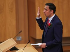 Anas Sarwar has urged all MSPs to work to 'strengthen the scrutiny powers of Holyrood' (Russell Cheyne/PA)