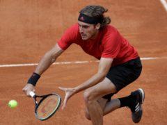 Stefanos Tsitsipas has been in excellent form on the clay (Gregorio Borgia/AP)