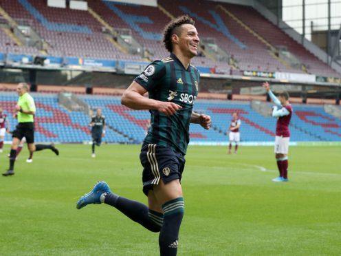 Rodrigo's second-half brace capped a fine afternoon for Leeds (Martin Rickett/PA)