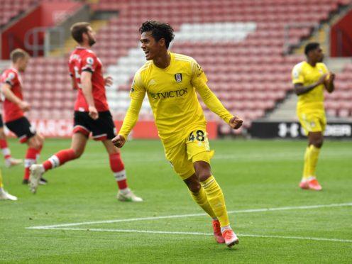 Fulham manager Scott Parker hailed teenager goalscorer Fabio Carvalho (Glyn Kirk/PA)