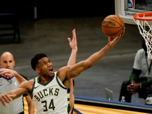 The Milwaukee Bucks continued their charge towards securing the Eastern Conference's number two seed with a 122-108 win over the Miami Heat (Morry Gash/AP)