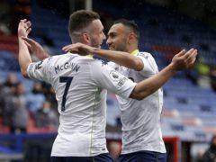 John McGinn scored against Crystal Palace (Henry Browne/PA)